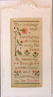 Ladybugs And Bumblebees by Country Cottage Needleworks