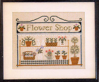 The Flower shop by Country Cottage Needlework