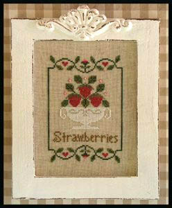 Summer Strawberries by Country Cottage Needleworks