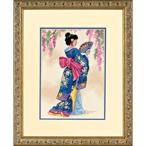 Elegant Geisha-06953- by Dimensions