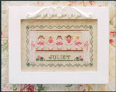Little Ballerinas by Country Cottage Needleworks
