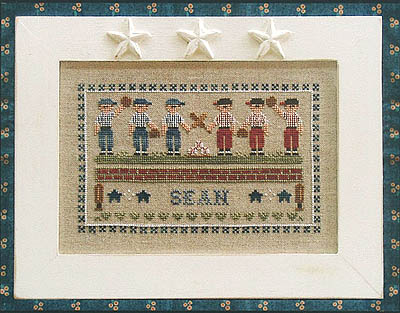 Little League by Country Cottage Needleworks