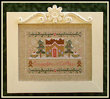 Gingerbread cottage by Country Cottage Needlework