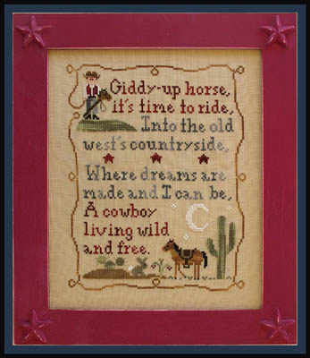 Country Cottage Needleworks Cowboy dreams