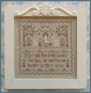 Garden Girl by Country Cottage Needleworks