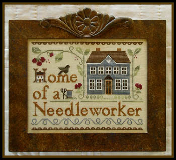 Home of a needleworker by Little House needlework