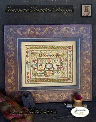 Silver Needle Stitches by Jeannette Douglas Designs