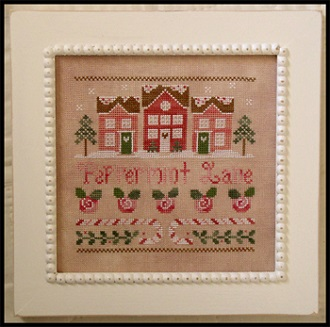 Peppermint lane by Country Cottage Needleworks