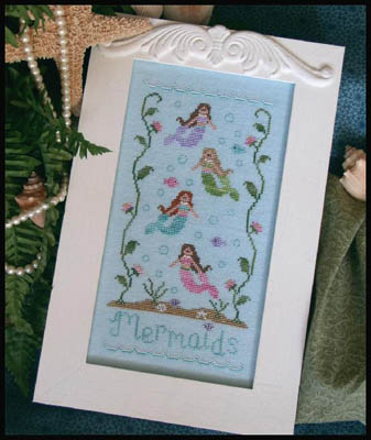 Mermaids by Country Cottage Needleworks