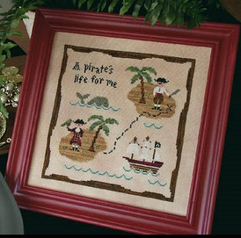 A pirate's life by Country Cottage Needleworks