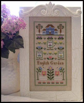 English garden by Country House Needlework
