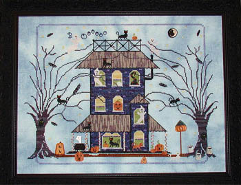 Black Cat Manor by Praiseworthy Stitches