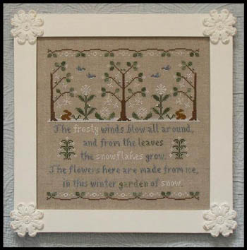 Garden of Snow by Country Cottage Needlework