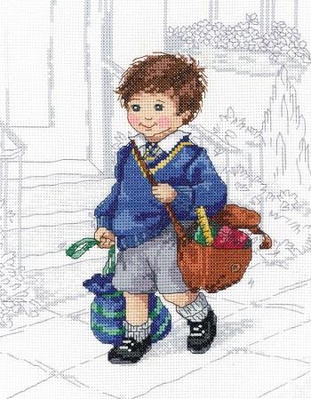 School boy by Janlynn