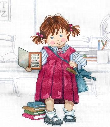 School girl by Janlynn