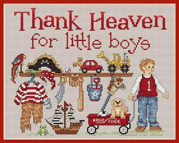 Sue Hillis Designs Thank Heaven For Little Boys