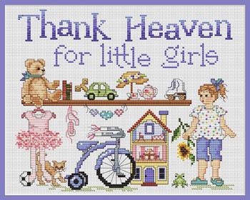 Sue Hillis Designs Thank Heaven For Little Girls