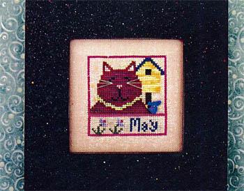 Vals Stuff Kitty Kalendar-May