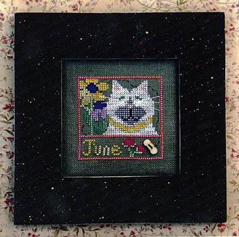 Vals Stuff Kitty Kalendar-June