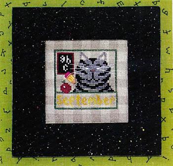 Vals Stuff Kitty Kalendar-September