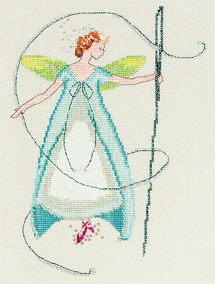 Stitching Fairies-Needle Fairy by Nora Corbett