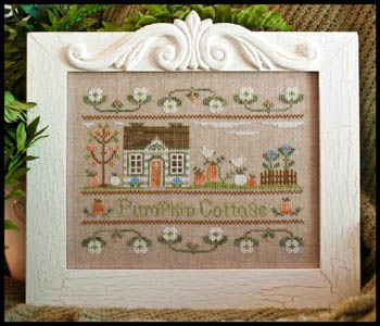 Pumpkin cottage by Country Cottage Needleworks