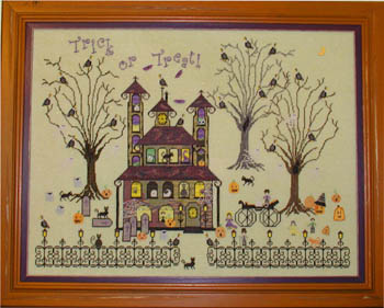 The Buzzard's Roost Inn by Praiseworthy Stitches