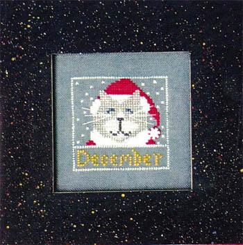 Vals Stuff Kitty Kalendar-December