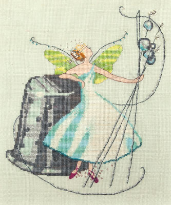 Stitching Fairies-Thimble Fairy by Nora Corbett