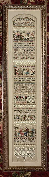 Heirloom Stitching Sampler by The Victoria Sampler