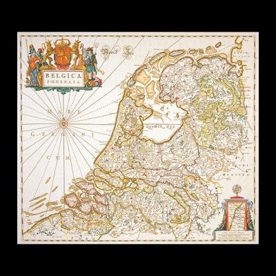 Dutch Antique Map,GOK1073,Thea Gouverneur