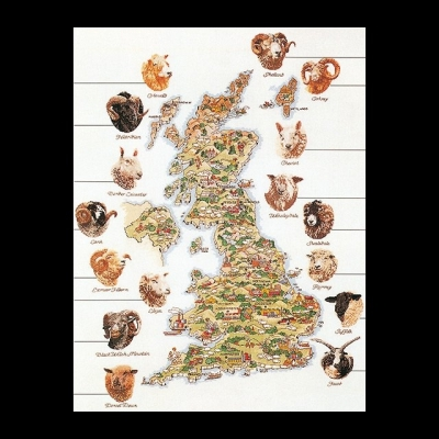 Sheep map,GOK1076,Thea Gouverneur