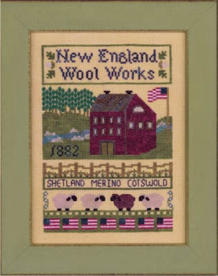 Elizabeth's Designs Needlework New England Wool Works
