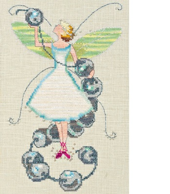 Stitching Fairies-Bead Fairy by Nora Corbett
