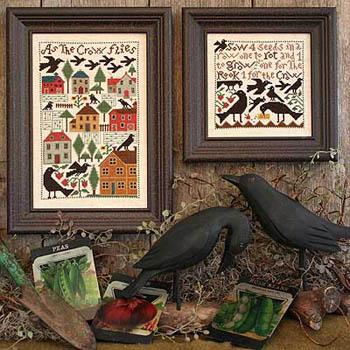 The Prairie Schooler As The Crow Flies
