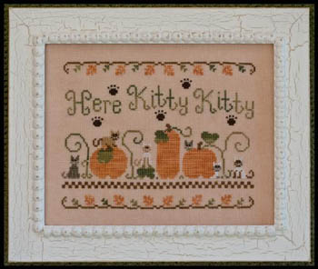 Here Kitty Kitty by Country Cottage Needleworks