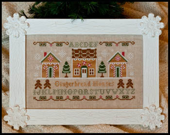 Gingerbread houses by Country Cottage Needleworks