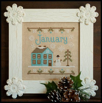 Cottage of the Month-January by Country Cottage Needlework