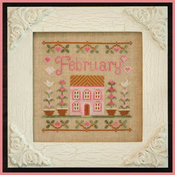 Cottage of the Month-February by Country Cottage Needlework