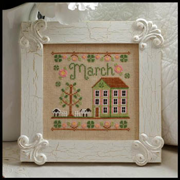 Cottage of the Month-March by Country Cottage Needlework