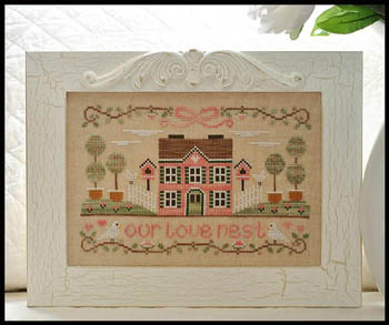 Our love nest by Country Cottage Needleworks