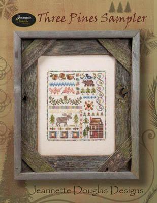 Jeannette Douglas Designs 3 Pines Sampler