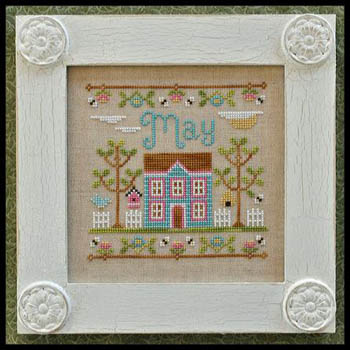 Cottage of the Month-May by Country Cottage Needlework