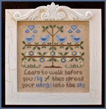 Walk Before You Fly by Country Cottage Needleworks