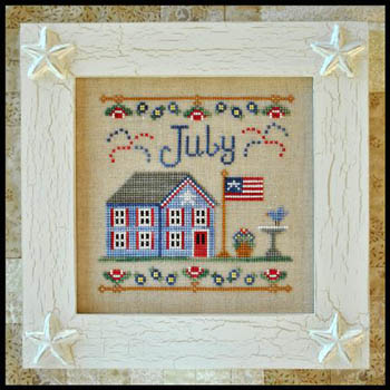 Cottage of the Month-July by Country Cottage Needlework