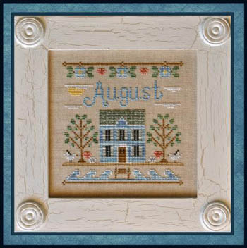 Cottage of the Month-August by Country Cottage Needlework
