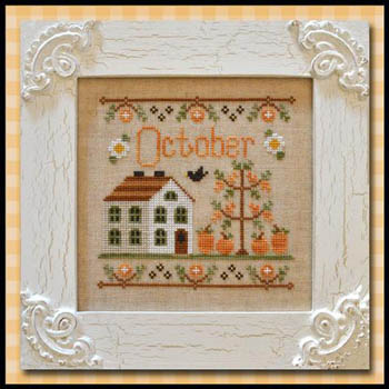 Cottage of the Month-October by Country Cottage Needlework