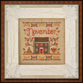 Cottage of the Month-November by Country Cottage Needlework