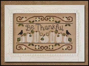 Be thankful by Country Cottage Needleworks