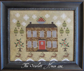 The Scarlet House Christmastide At Holly House